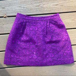 Anthropologie Skirts - Anthropologie Purple skirt